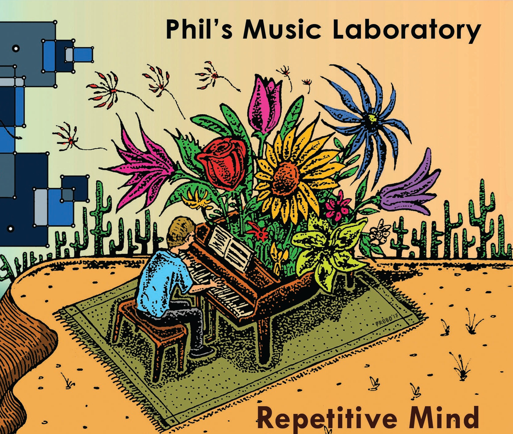 Phil's Music Laboratory – Repetitive Mind (2017)