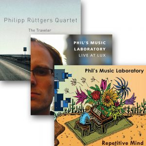 DISCOUNT: Philipp Rüttgers – 3CD Bundle (Repetitive Mind, Live At Lux & The Traveler)