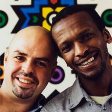 Louis Mhlanga & Eric Van Der Westen